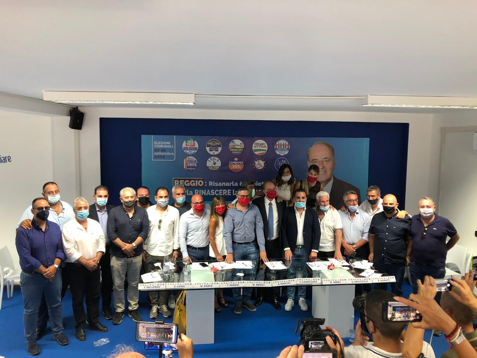 Elezioni a Reggio Calabria, il centrodestra unito: «Falcomatà scherza ma la città piange lacrime amare»