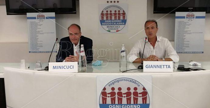 """Elezioni comunali, Giannetta presenta la lista """"Ogni giorno Reggio Calabria"""" per Minicuci sindaco"""