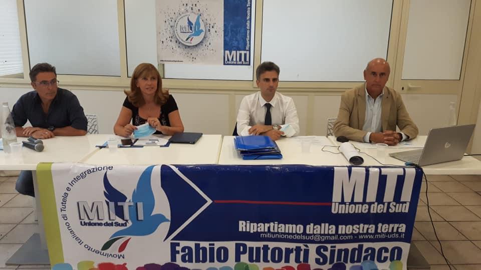 Elezioni a Reggio Calabria, Putortì chiude la campagna elettorale nel segno del bergamotto