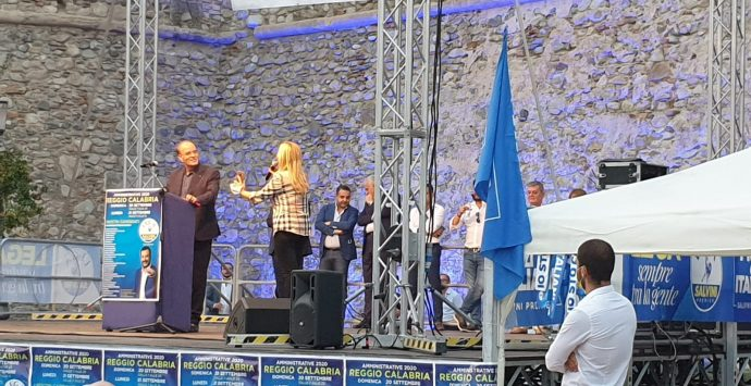 Elezioni Reggio Calabria, Molinari: «Minicuci è l'uomo giusto, è l'uomo del ponte di Genova»