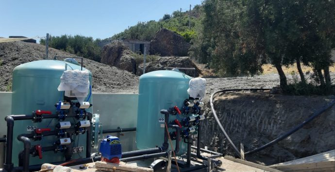 Montebello Jonico, con la nuova sezione di filtrazione catalitica l'acqua a Masella è potabile