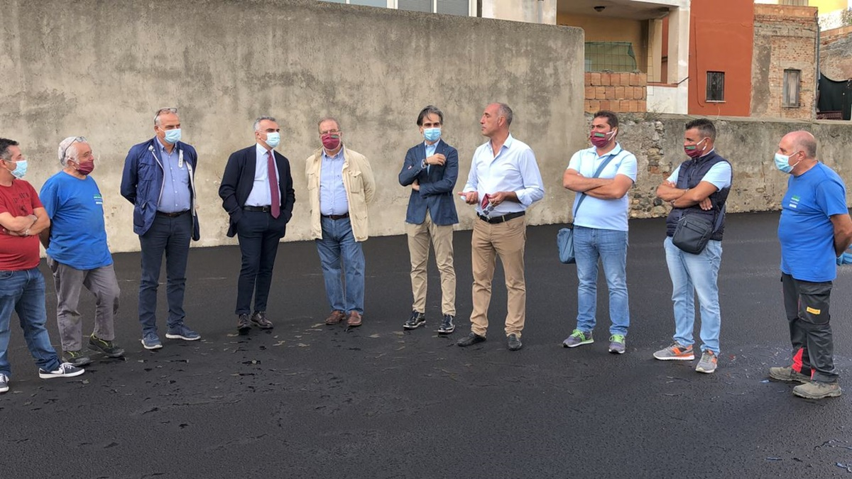 Reggio Calabria, l'Amministrazione consegna ad Atam i lavori di completamento del piazzale del deposito