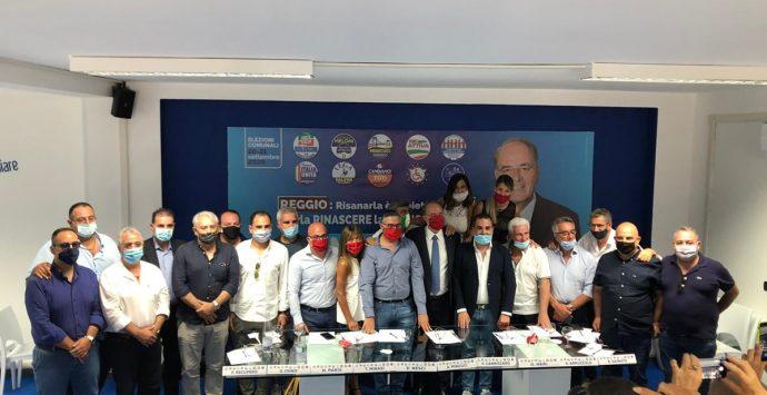 Elezioni Reggio Calabria, il centrodestra: «Scuola, famiglie abbandonate. Un altro disastro di Falcomatà»