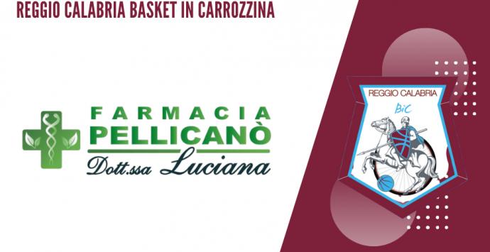Farmacia Pellicanò main sponsor della Reggio Calabria basket in carrozzina