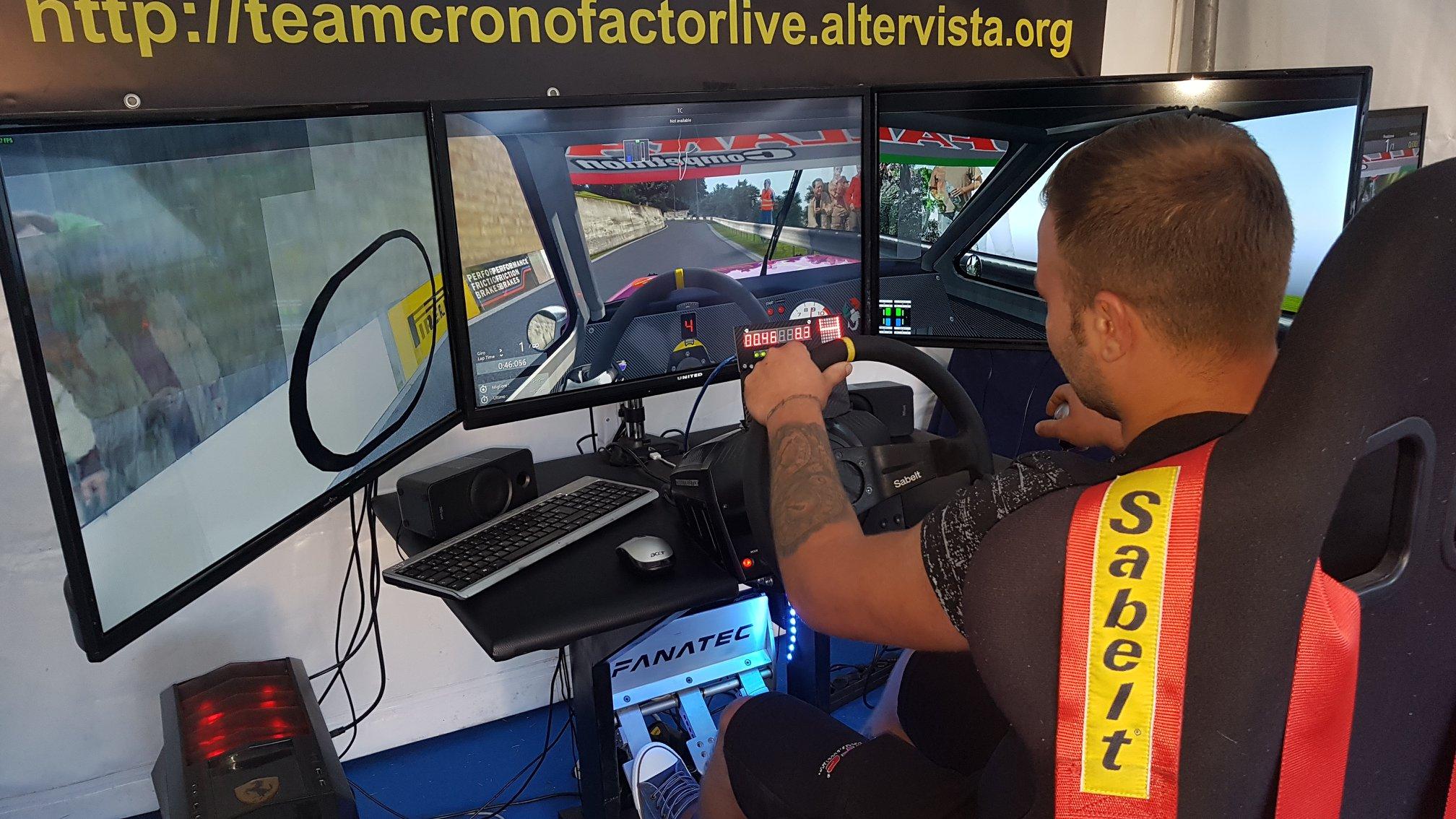 Motori, al via del campionato virtuale velocità montagna