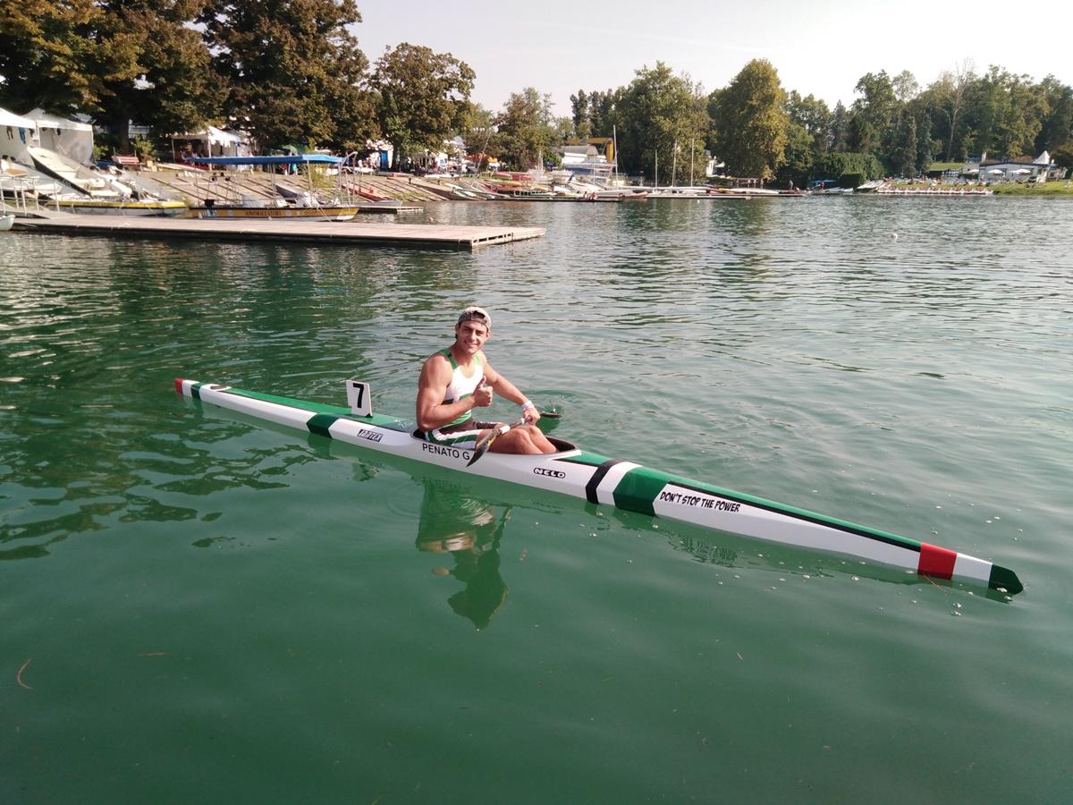 Canoa, il reggino Giovanni Penato (atleta del Canoa Kayak Club): è tra i 6 migliori d'Italia
