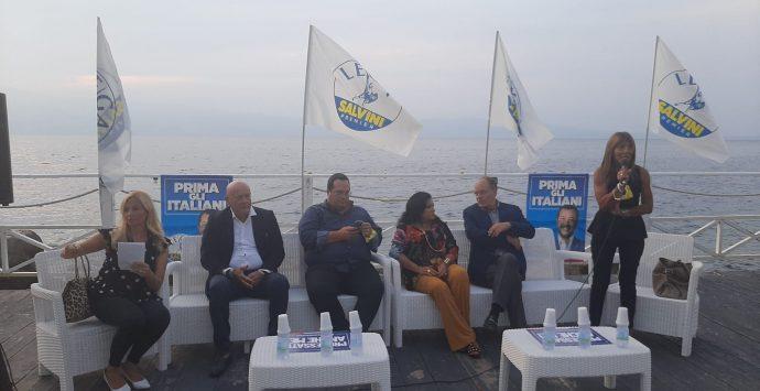Comunali a Reggio, Durigon e la Lega esaltano Minicuci: «La scelta migliore per risollevare la città»