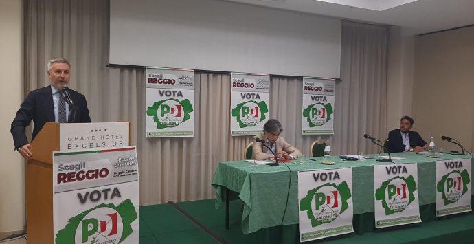 Guerini chiede il secondo tempo per Falcomatà: «La proposta più forte in campo»