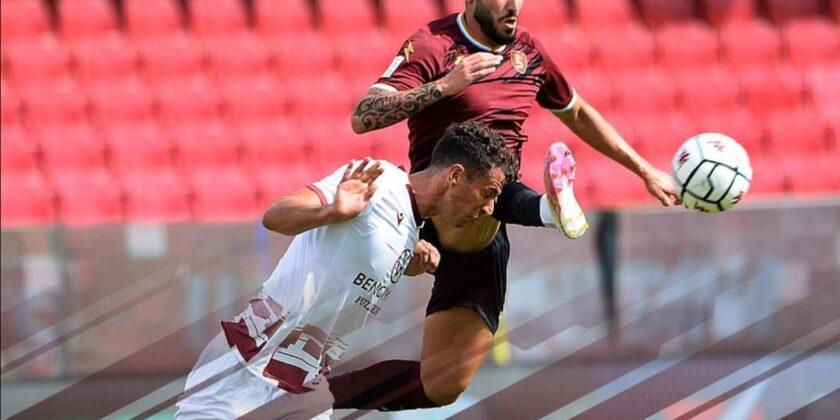 Reggina, non basta una magia di Menez. A Salerno finisce 1-1