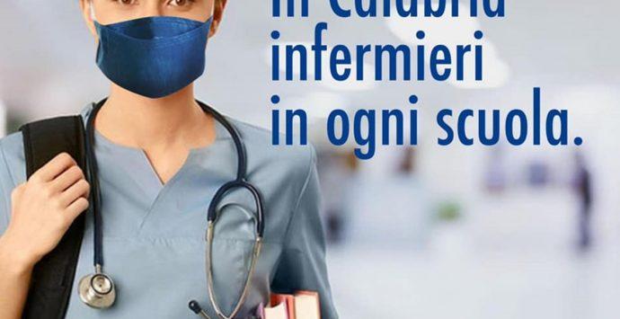 Sanità, Santelli: «In arrivo un infermiere per ogni istituto scolastico»