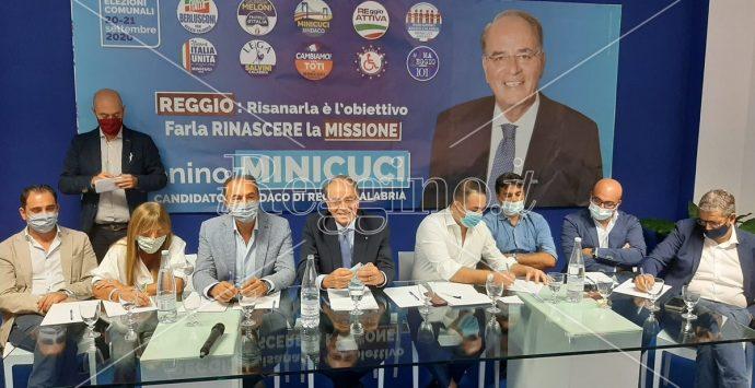 Elezioni Reggio Calabria, Minicuci: «In giunta professionisti nei ruoli chiave. Basta compagni di calcetto»