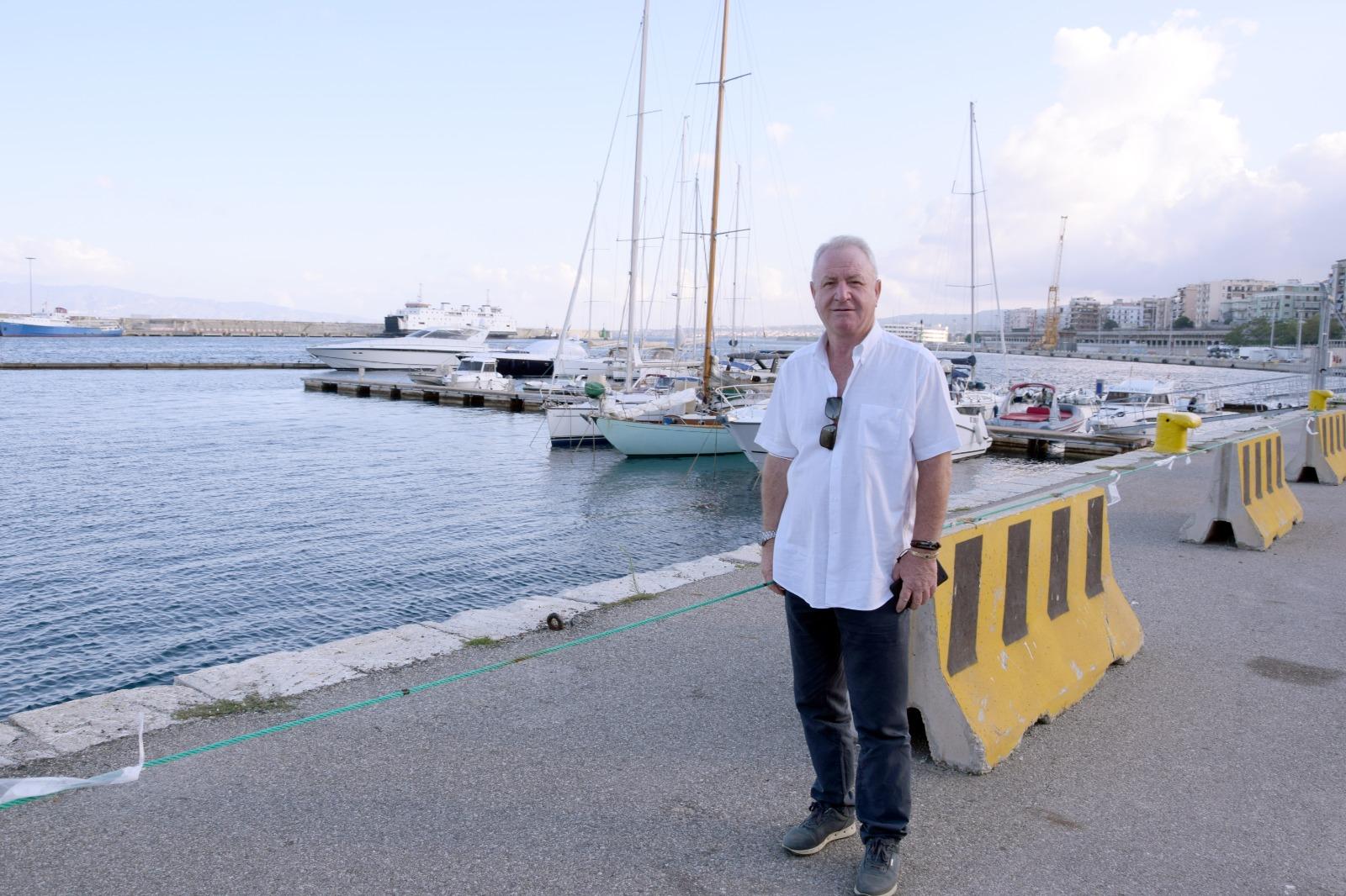 Elezioni a Reggio Calabria, Barreca: «La città deve puntare su mare e turismo»