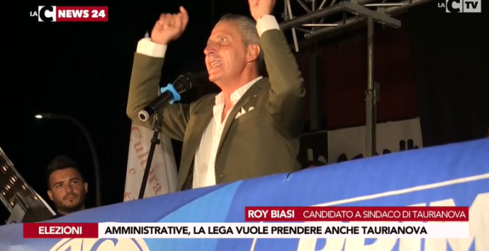 Taurianova, il candidato della Lega Roy Biasi: «Raddoppieremo i voti di Fi»
