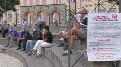 Poliambulatorio di Villa San Giovanni, l'assemblea pubblica chiede risposte alla politica e all'Asp