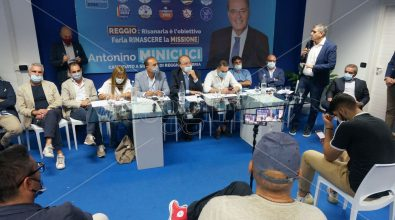 Elezioni Reggio, centrodestra unito: «Pazzano e Falcomatà, inciucio prevedibile. Reggini presi in giro»