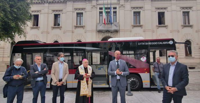 Reggio Calabria, Atam: benedetto l'autobus intitolato alla Madonna della Consolazione