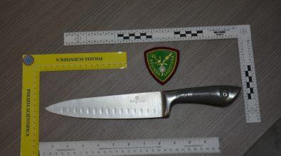 Reggio Calabria, brandiva un coltello all'aeroporto. In manette un extracomunitario