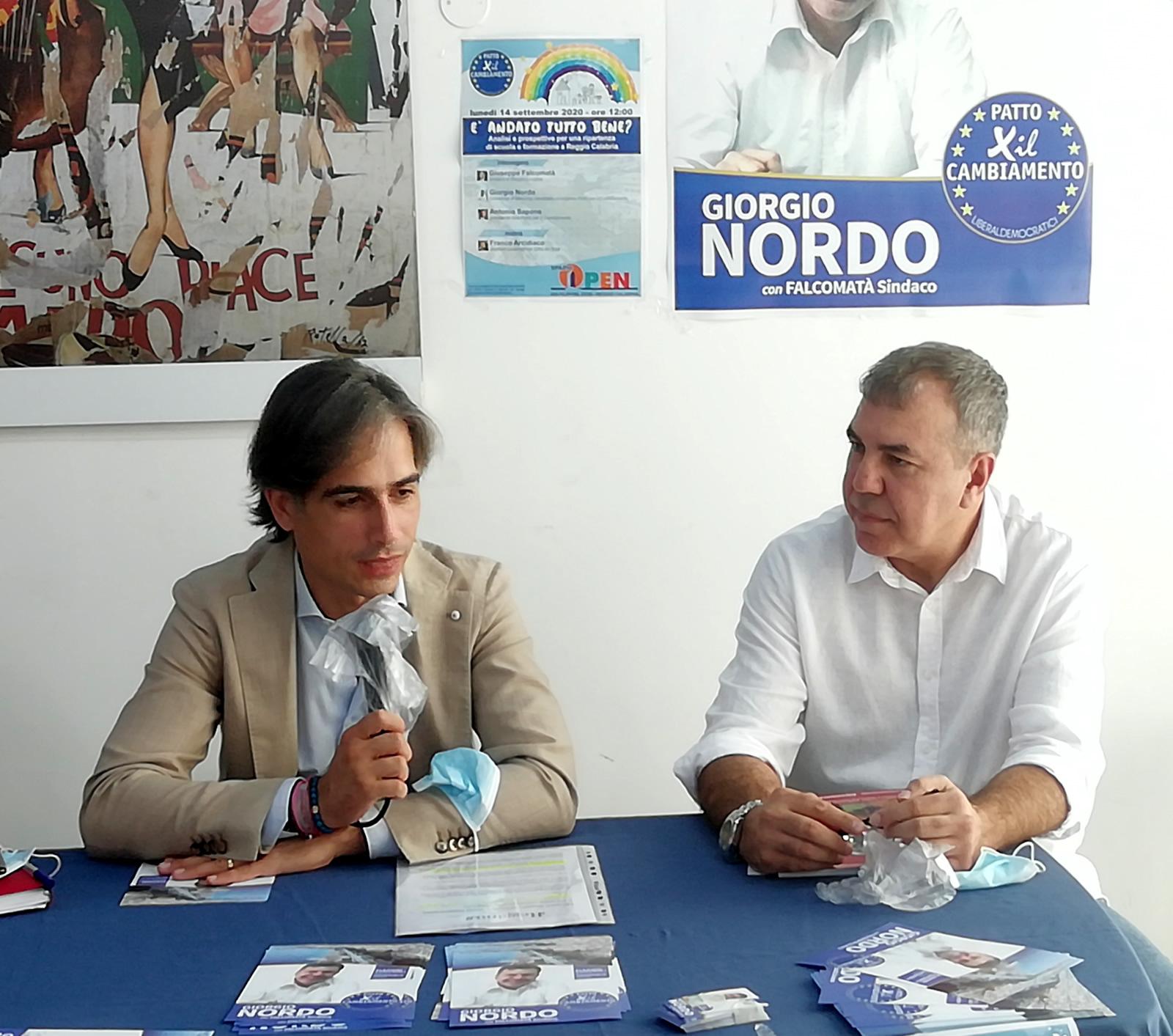 Elezioni Reggio Calabria, Nordo sui nodi da sciogliere per il sistema scolastico in città