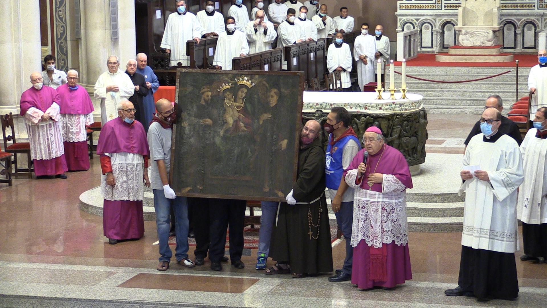 Feste mariane, l'arcivescovo Morosini: «Aiutaci, Maria. Abbiamo paura»