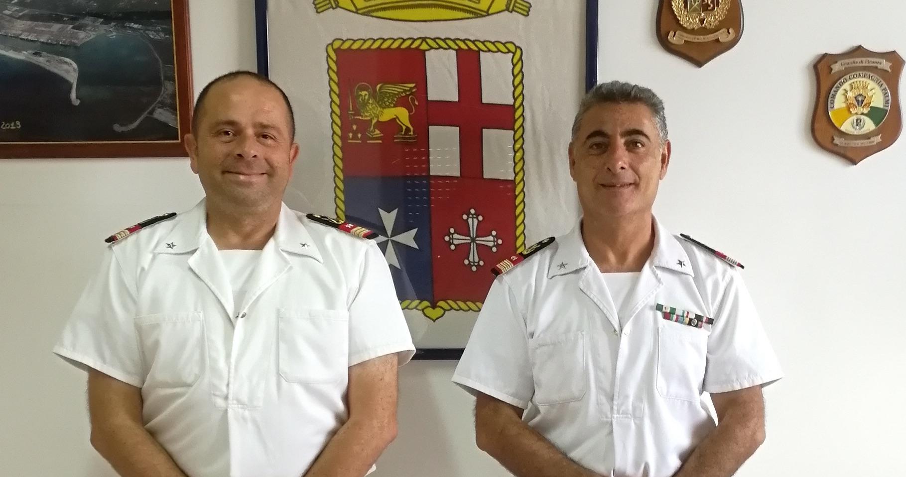 Palmi, avvicendamento al comando della Guardia Costiera