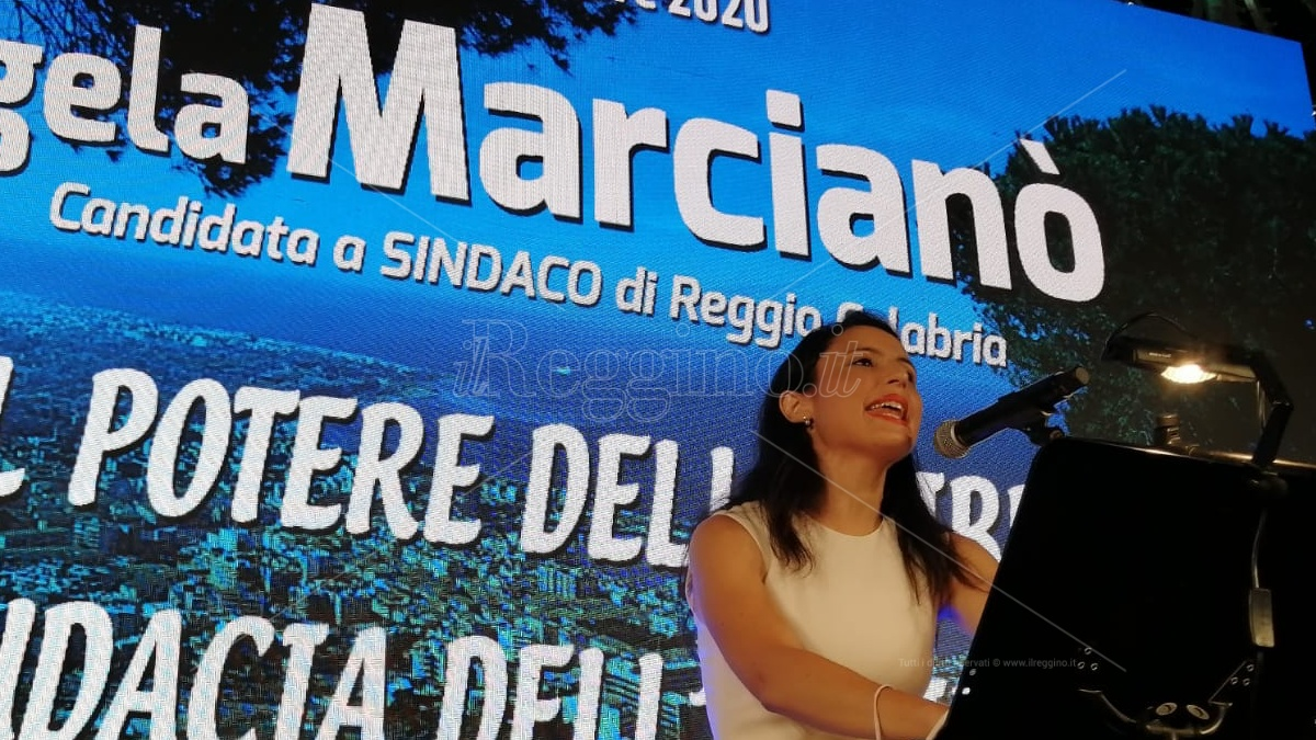 Elezioni Reggio, Angela Marcianò arringa gli elettori: «Siamo l'unica alternativa credibile»