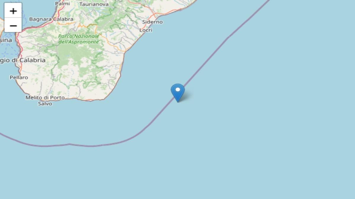 Terremoto in provincia di Reggio nella notte. Scossa di magnitudo 3.4
