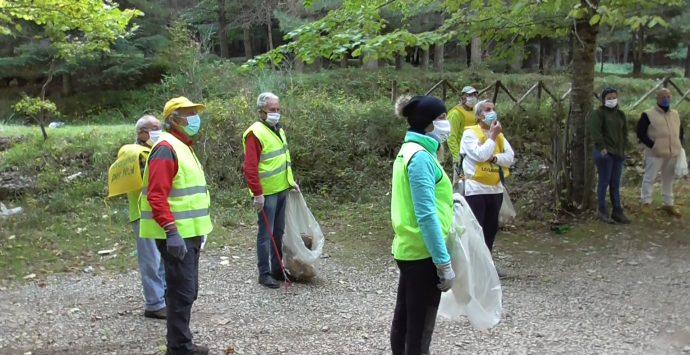 Parco Aspromonte, liberate dai rifiuti alcune aree montane