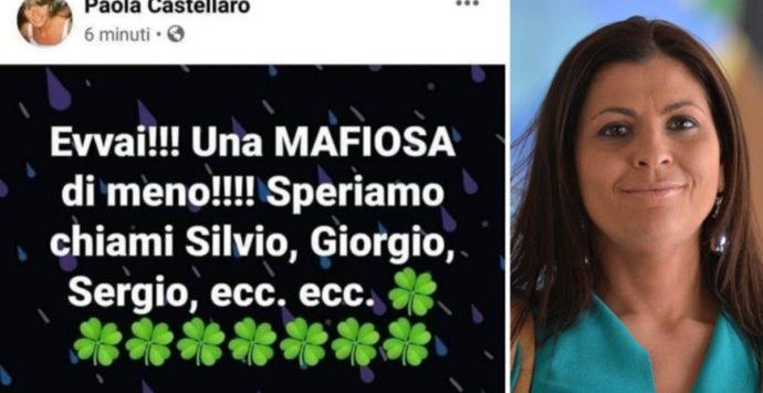 Morte Jole Santelli, l'odio insensato di Paola Castellaro fa indignare il web
