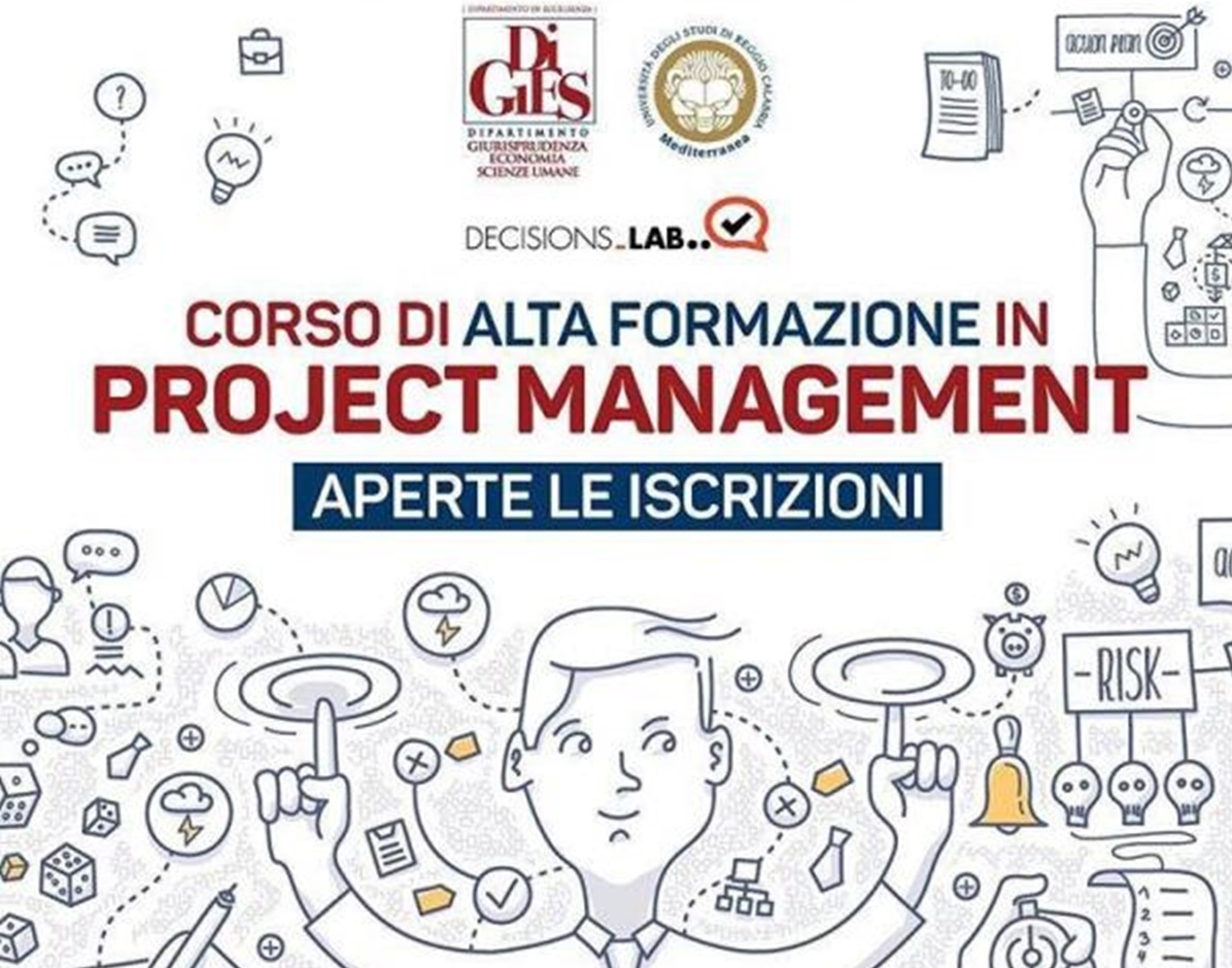 Università Mediterranea,  IV Edizione del Corso di alta formazione in project management