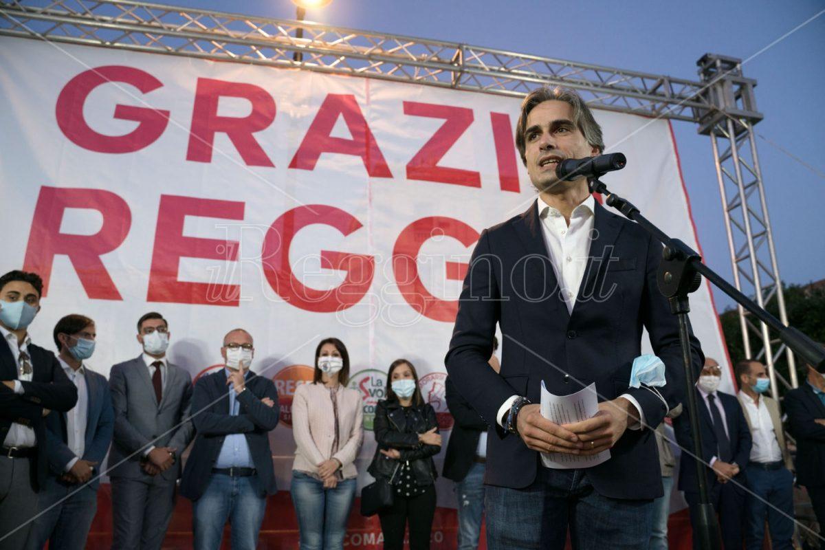 Reggio Calabria, Falcomatà: «Mi impegnerò ad essere un sindaco migliore di quello che sono stato»