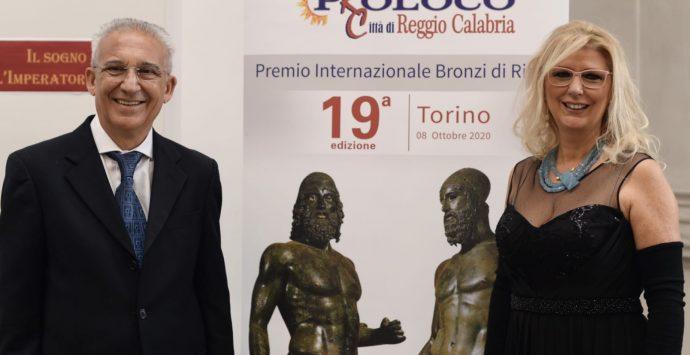 """Torino, applausi per il premio internazionale """"Bronzi di Riace"""""""
