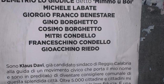 Reggio Calabria, Davi scrive ai boss di 'ndrangheta: «Via da qui, siete persone sgradite»