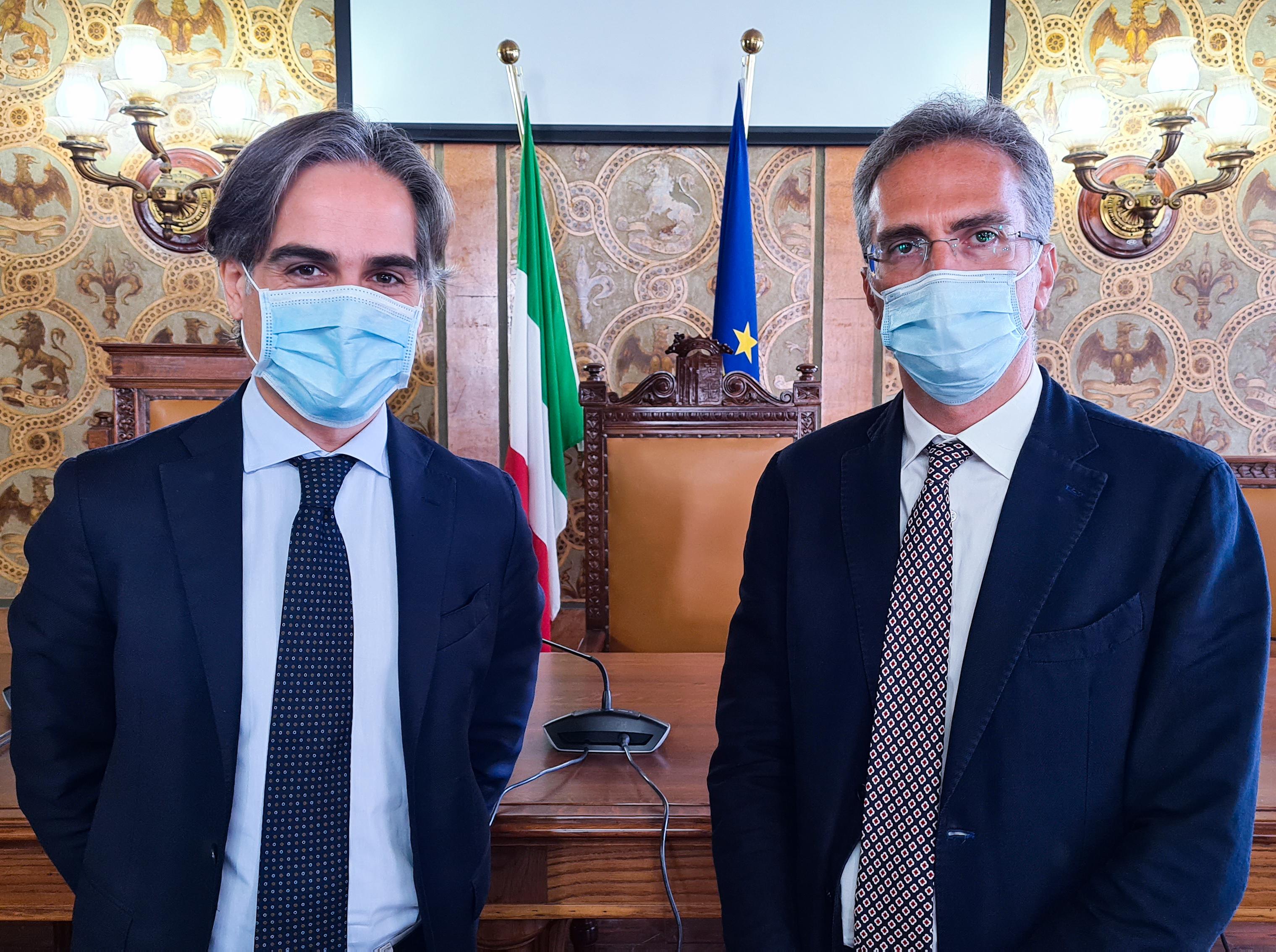 Reggio Calabria, il sindaco Falcomatà incontra le istituzioni