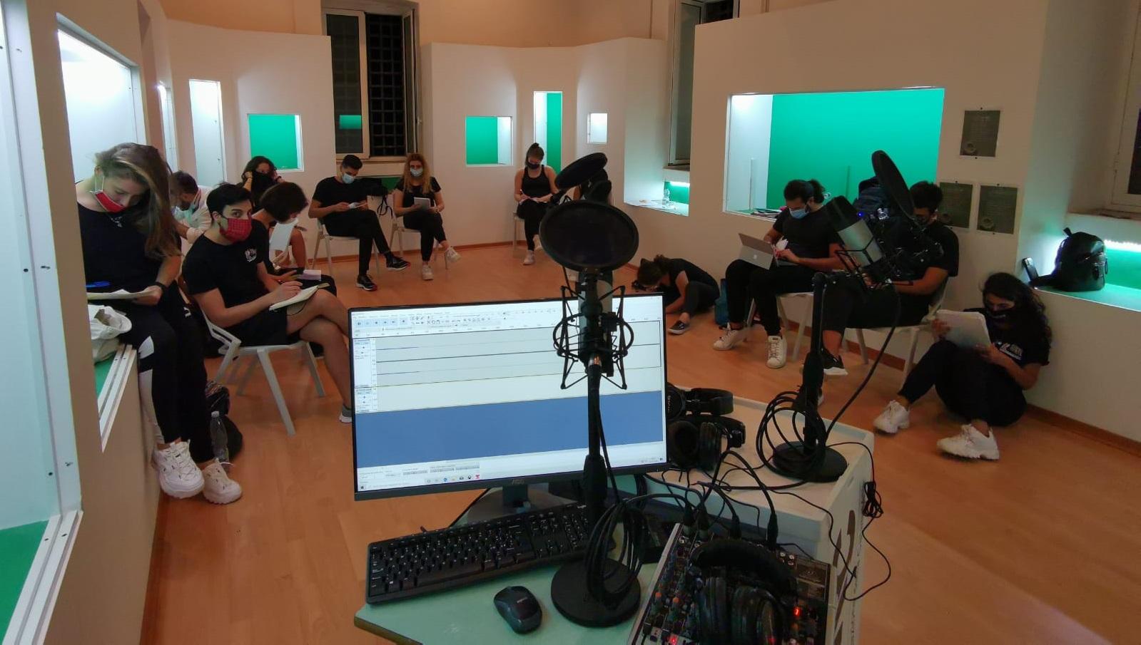 La scuola di recitazione della Calabria approda in radio