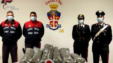 Trasportavano droga su una barca, due arresti a Bagnara