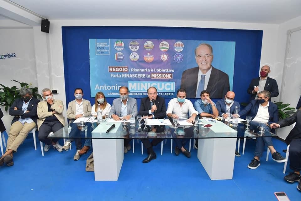 Elezioni comunali a Reggio Calabria, il centrodestra unito: «Falcomatà indagato, la città non merita un sindaco sospeso»