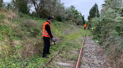 Linee taurensi, volontari al lavoro per ripulire la ferrovia