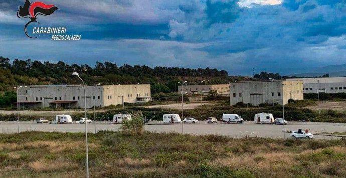 San Ferdinando, nomadi allontanati dall'area industriale vicina al porto