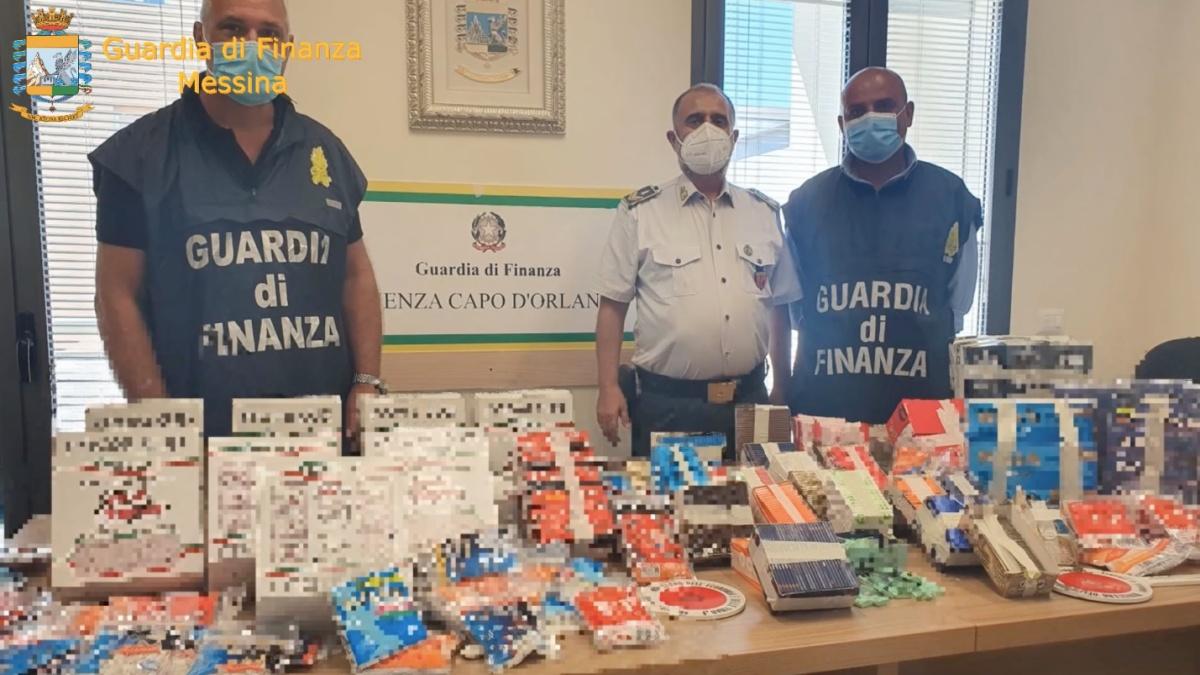 Sequestrati 142mila articoli per fumatori venduti senza autorizzazioni