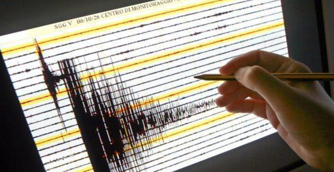 Sisma in Calabria:  terremoto di magnitudo  tra 3.4 e 3.9 nella zona di Vibo Valentia