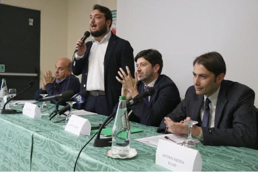 Elezioni comunali a Reggio Calabria, Articolo Uno a sostegno di Falcomatà