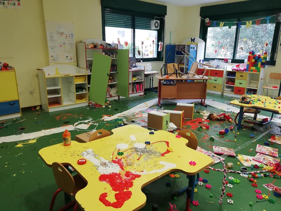 Reggio Calabria, vandalizzata la scuola d'infanzia Arghillà Salice