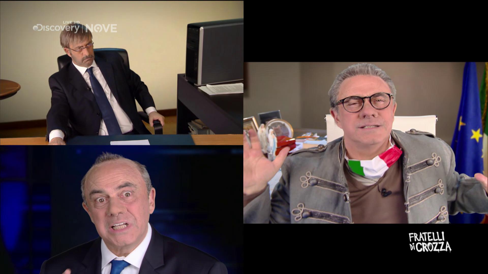Caos Sanità, Crozza imita Spirlì, Cotticelli e Zuccatelli: «La vera emergenza siamo noi»