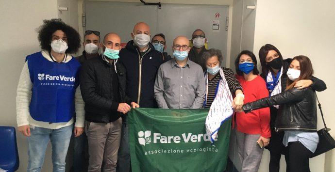 """Reggio Calabria, """"Fare verde"""" inaugura la campagna di donazione di sangue all'Adspem"""