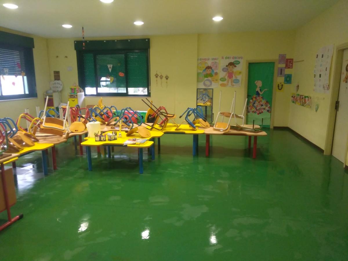 Reggio Calabria, ripristinata la funzionalità nella scuola dell'Infanzia Salice Arghillà