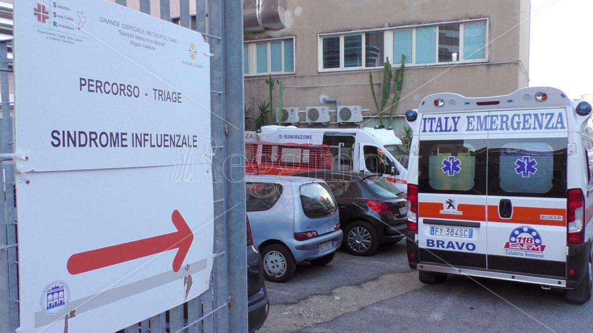 Coronavirus Reggio Calabria, deceduto 82enne al Gom. Il bollettino