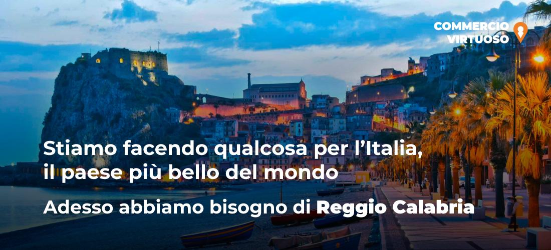 """""""Commercio Virtuoso"""" apre ai commercianti di Reggio Calabria"""
