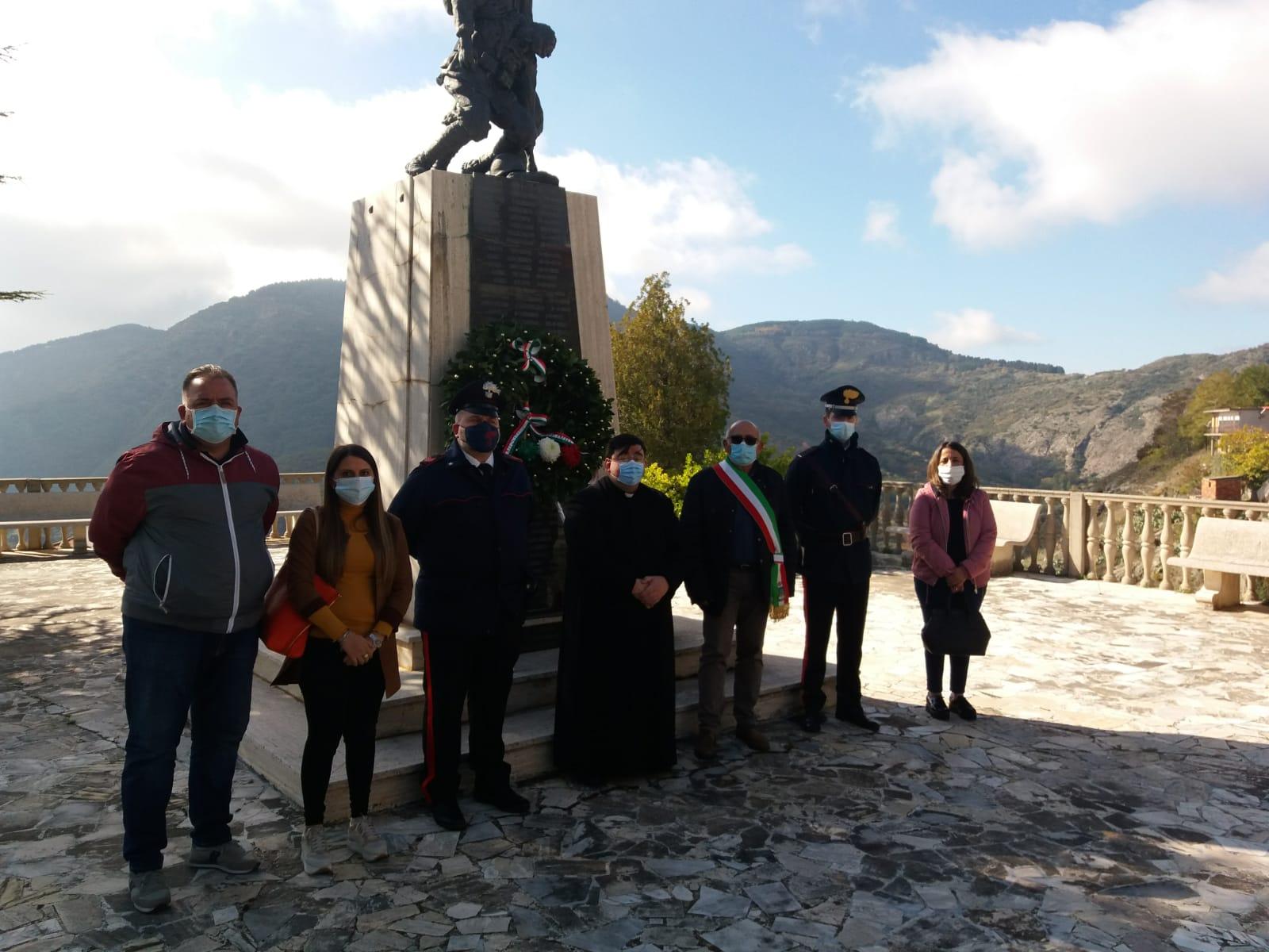 Roccaforte del Greco, celebrata la ricorrenza del 4 Novembre