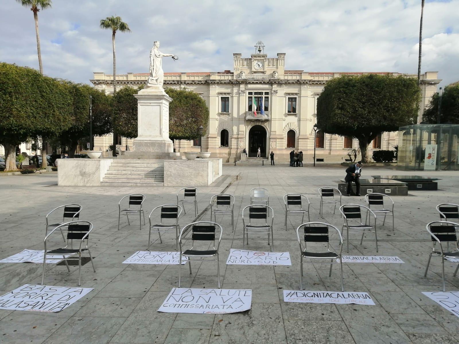 Sanità in Calabria, a Reggio si manifesta a sostegno dei sindaci a Roma