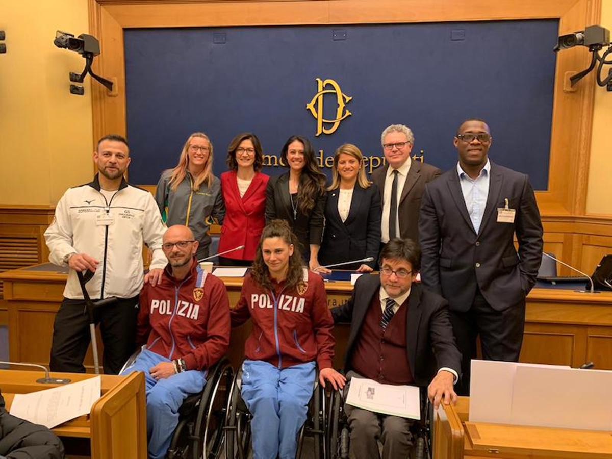 Riforma dello sport, Versace: «Si aprono le porte ai gruppi di atleti paralimpici»